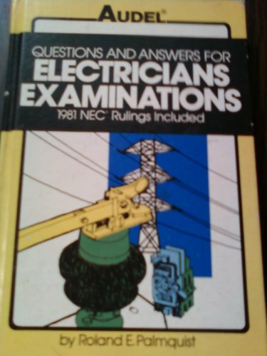 9780672233630: Questions and answers for electricians examinations