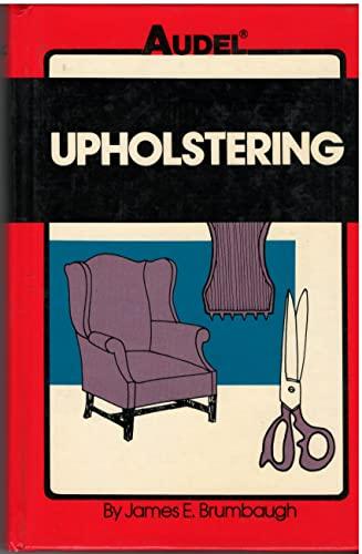9780672233722: Upholstering