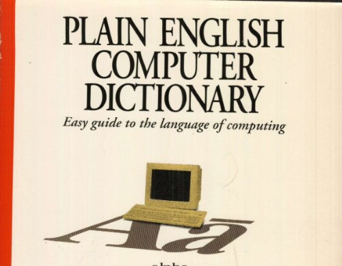 Plain English Computer Dictionary (9780672301278) by Joe Kraynak