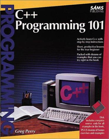 9780672302008: C++ Programming 101