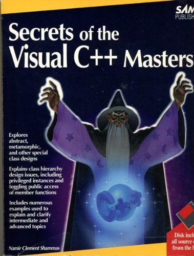 9780672302848: Secrets of the Visual C++ Masters/Book and Disk