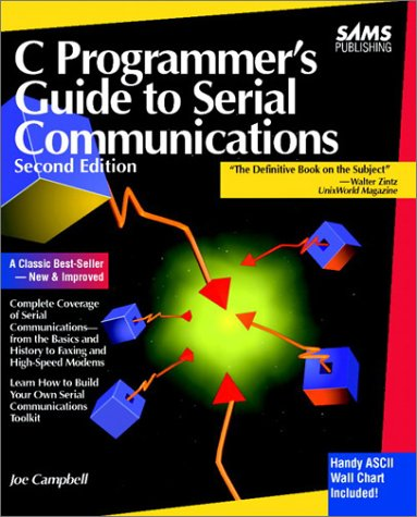9780672302862: C Programmer's Guide to Serial Communications