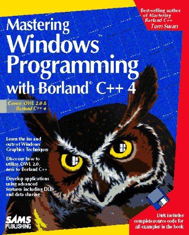 9780672303128: Mastering Windows Programming With Borland C++ 4/Book and Disk