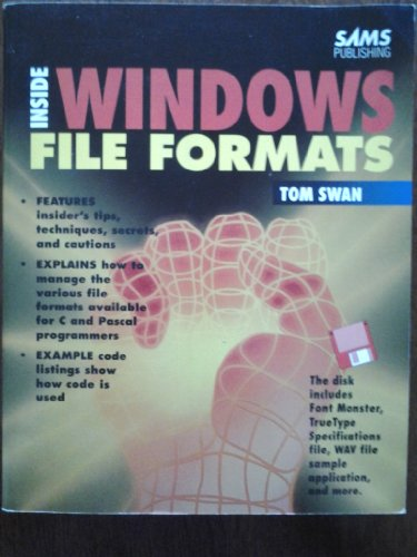 9780672303388: Inside Windows File Formats