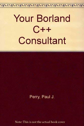 Borland C Plus Plus Tech Support: Paul J. Perry