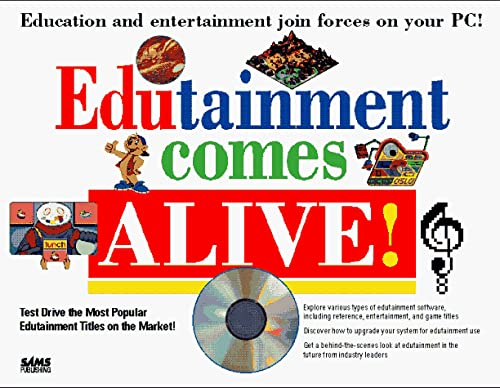 9780672304507: Edutainment Comes Alive!/Book and Cd-Rom