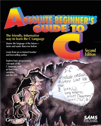 9780672305108: Absolute Beginner's Guide to C (2nd Edition)