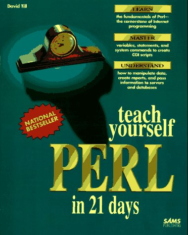 9780672305863: Teach Yourself Perl in 21 Days