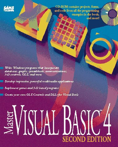 9780672306402: Master Visual Basic 4/Book and Cd-Rom