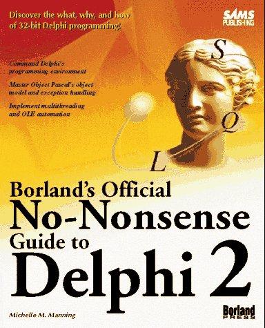 9780672308710: Borland's Official No-Nonsense Guide to Delphi 2