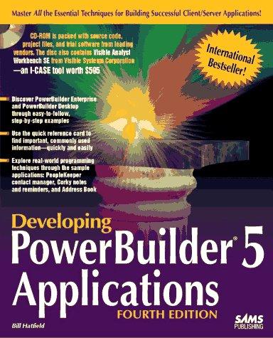 9780672309168: Developing Powerbuilder 5 Applications