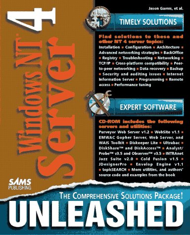 9780672309335: Windows Nt Server 4 Unleashed