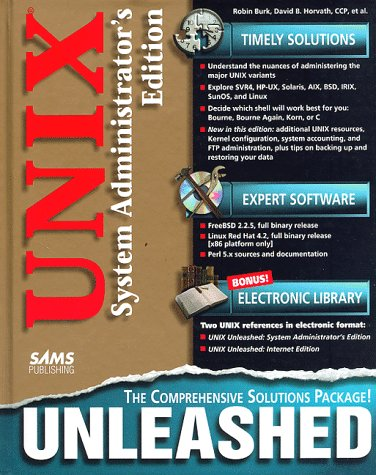 9780672309526: UNIX Unleashed: System Administrator's Edition