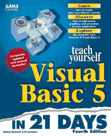9780672309786: Sams Teach Yourself Visual Basic 5 in 21 Days (Teach Yourself in 21 Days)