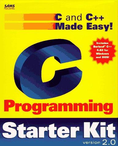 9780672309960: C Programming Starter Kit 2.0