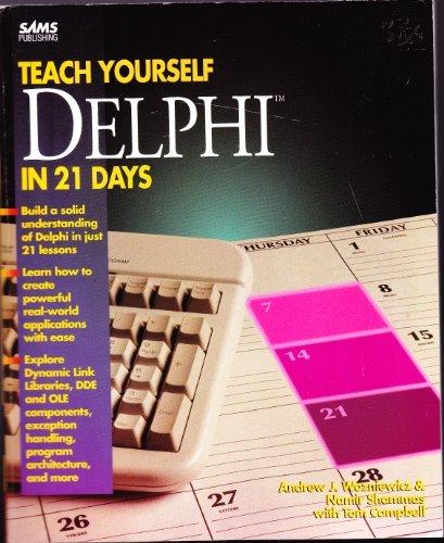9780672309977: Sams Teach Yourself Delphi in 21 Days