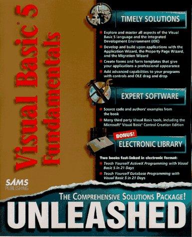 9780672310737: Visual Basic 5 Fundamentals Unleashed (Vol 1)