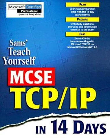 9780672311673: SAM'S TEACH YOURSELF MCSE TCP/IP IN 14 DAYS. Edition en anglais