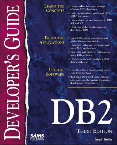 9780672311680: DB2 Developer's Guide
