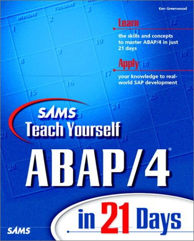9780672312175: Sams Teach Yourself ABAP/4 in 21 Days