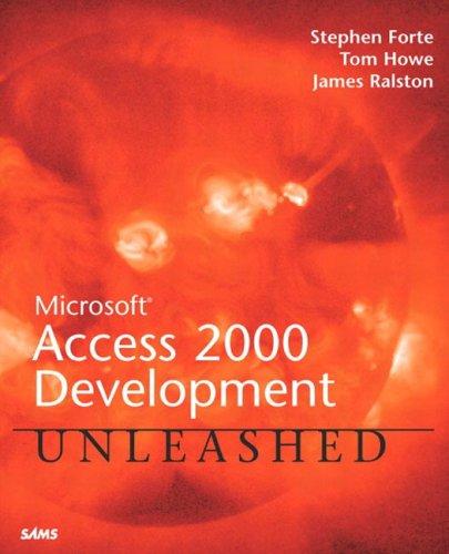 9780672312915: Microsoft Access 2000 Development Unleashed