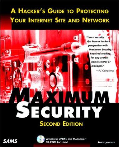 9780672313417: Maximum Security