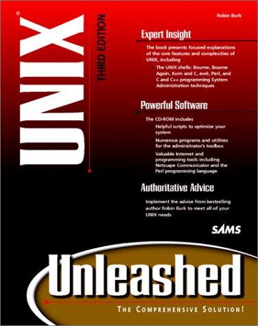 9780672314117: Unix Unleashed