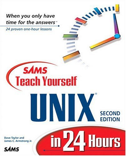 9780672314803: Sams Teach Yourself Unix in 24 Hours