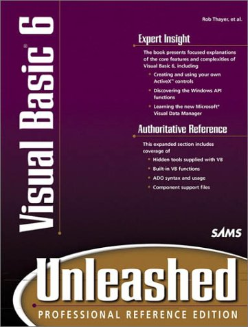 9780672315084: Visual Basic 6: Unleashed : Professional Reference