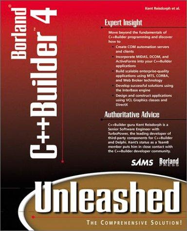 9780672315107: Borland C++Builder 4 Unleashed
