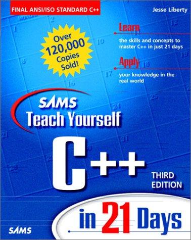 9780672315152: Sams Teach Yourself C++ in 21 Days, Third Edition