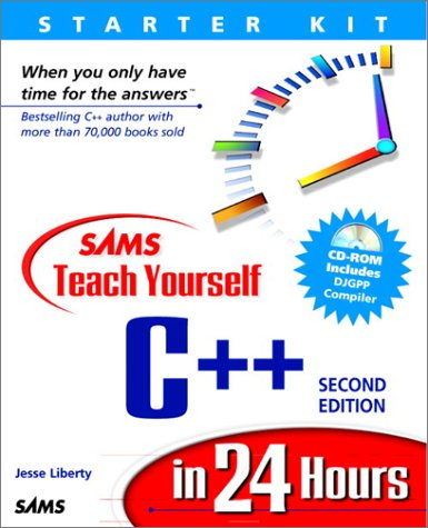 9780672315169: Sam's Teach Yourself C++ in 24 Hours (2nd Edition)