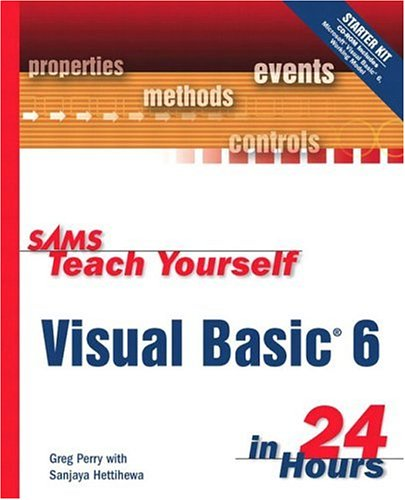9780672315336: Sams Teach Yourself Visual Basic 6 in 24 Hours