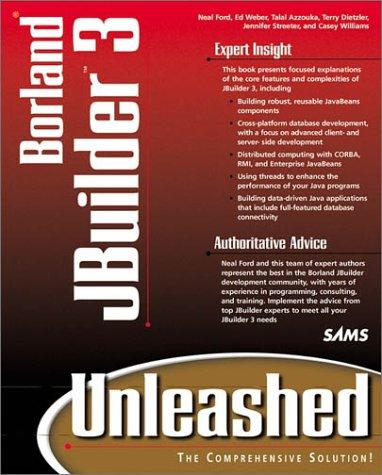 9780672315480: JBuilder 3 Unleashed