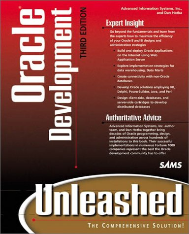 9780672315756: Oracle Development Unleashed (3rd Edition)