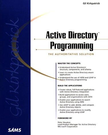 9780672315879: Active Directory Programming