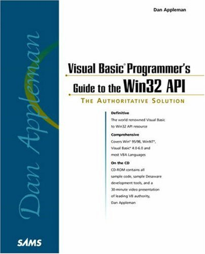 9780672315909: Dan Appleman Visual Basic Programmer's Guide to the Win32 API (Sams Teach Yourself in 10 Minutes Books)