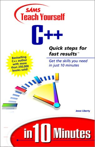 9780672316036: Sams Teach Yourself C++ in 10 Minutes