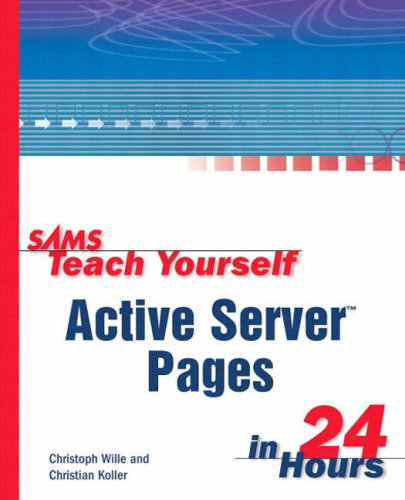 9780672316128: Sams Teach Yourself Active Server Pages in 24 Hours