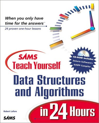 9780672316333: Sams Teach Yourself Data Structures and Algorithms in 24 Hours