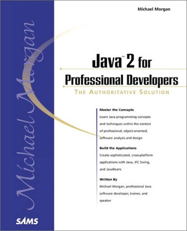 9780672316975: Java 2 for Professional Developers