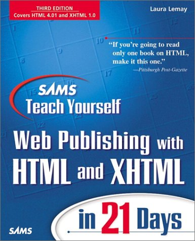 9780672317255: Sams Teach Yourself Web Publishing with HTML 4 in 21 Days (2nd Edition)