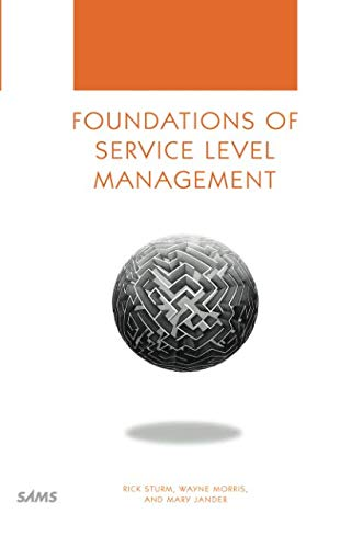 9780672317439: Foundations of Service Level Management