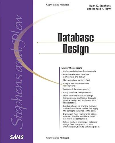 9780672317583: Database Design