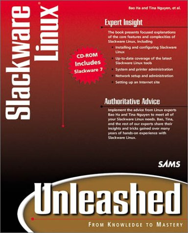 9780672317682: Slackware Linux Unleashed (Unleashed)