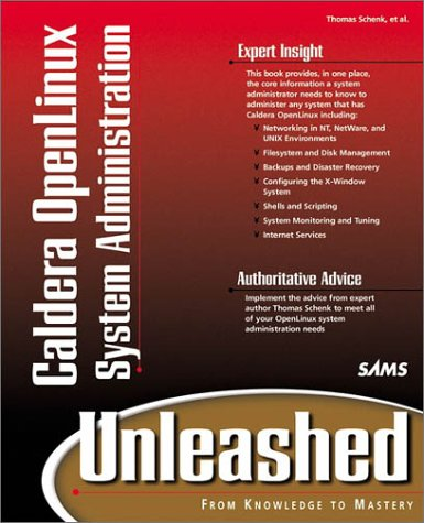 9780672317699: Caldera OpenLinux 2.2 System Administration Unleashed