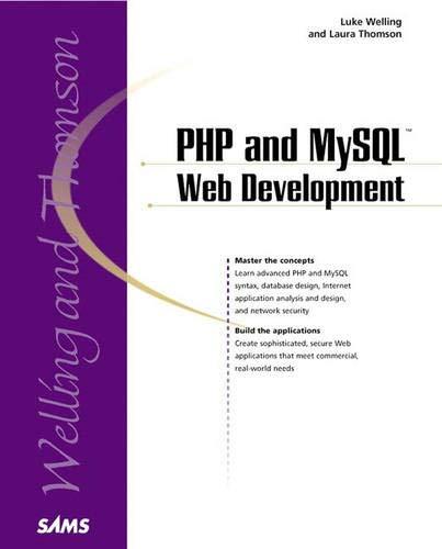 9780672317842: PHP and MySQL Web Development