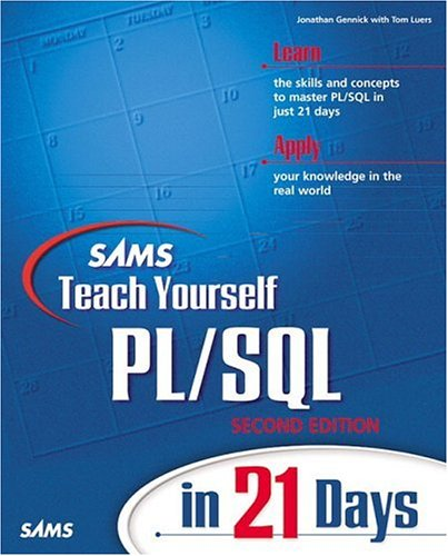 9780672317989: Sams Teach Yourself PL/SQL in 21 Days