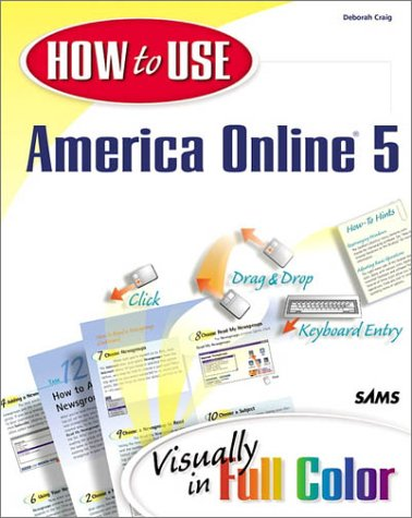9780672318023: How to Use America Online 5 (Other Sams)