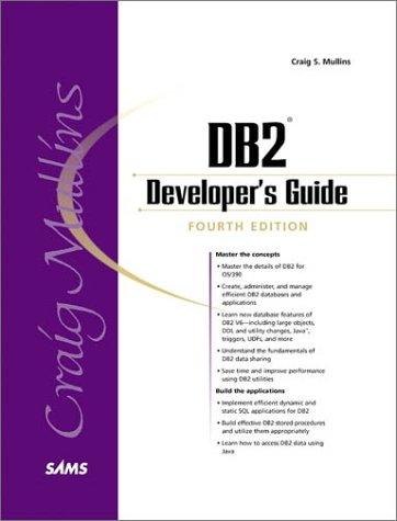 9780672318283: DB2 Developer's Guide